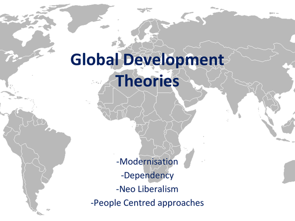Preview of Global Development Theories