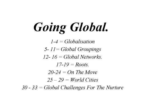 Preview of Going Global