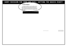 Preview of GOOD AND EVIL ONE-PAGE REVISION GUIDE