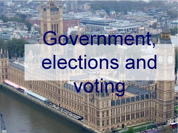 Preview of Government, Elections and Voting