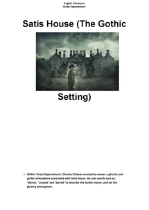 Preview of Great Expectations - Gothic Elements