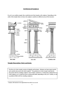 Preview of Greek Architecture