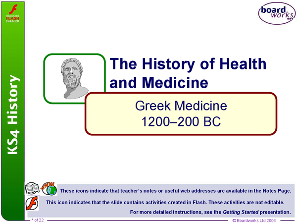 Preview of Greek Medicine