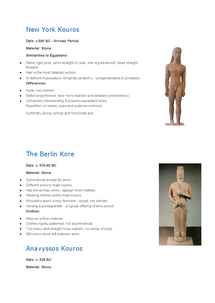 Preview of Greek Sculptures