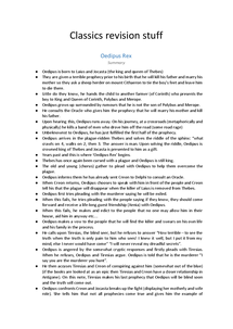 Preview of Greek Tragedy Revision Guide