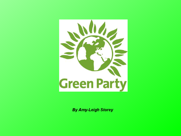 Preview of Green Party