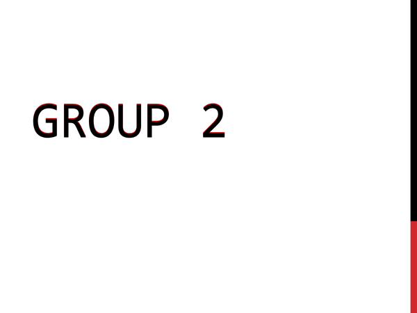 Preview of Group 2 Elements (AQA Unit 2)