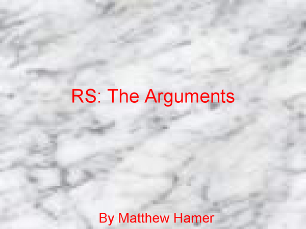 Preview of Guide to the Arguments for the exitence of God