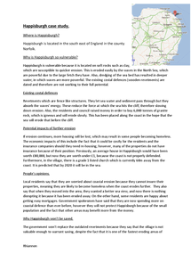 Preview of Happisburgh case study