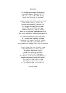 Preview of Harmonium by Simon Armitage