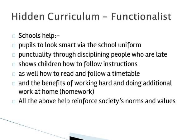 Preview of Hidden Curriculum