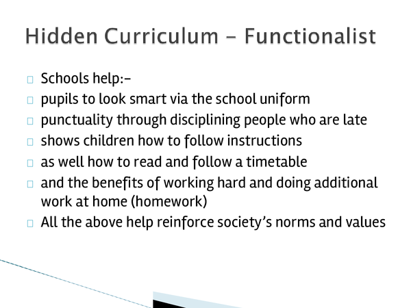 Preview of Hidden Curriculum Revision