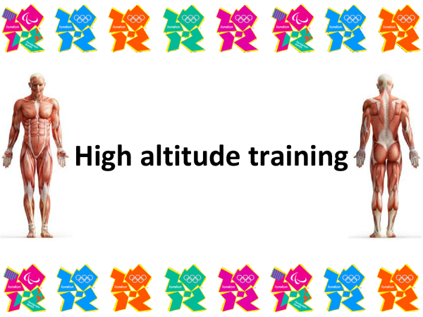 Preview of High altiude training