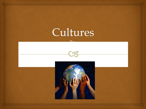 Preview of high, popular,subcultures, cultural divesity, multicultarlism, and consumer and global culture