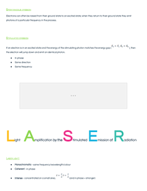 Preview of Higher Physics - Unit 3 - LASER