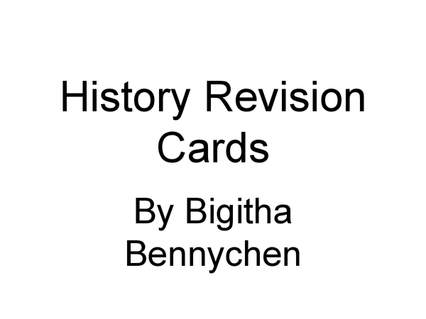 Preview of Hisitory -Medicine through time revision cards (really helpful)