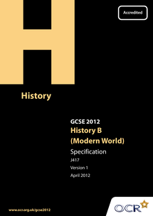Preview of History GCSE specification