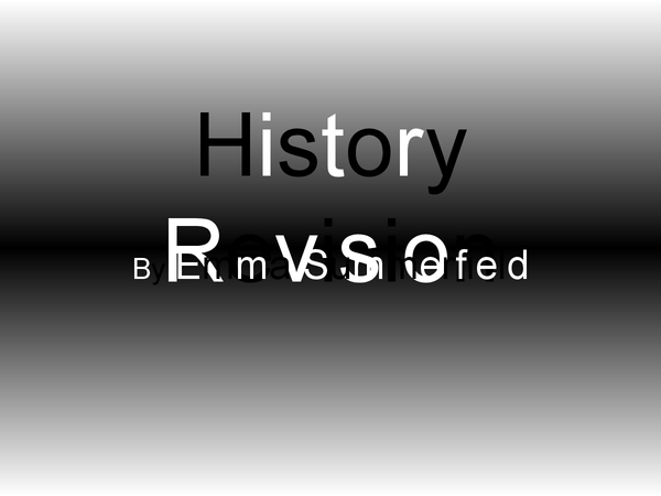 Preview of History Key Topic 1