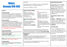 Preview of History Revision Notes [1924-1928]