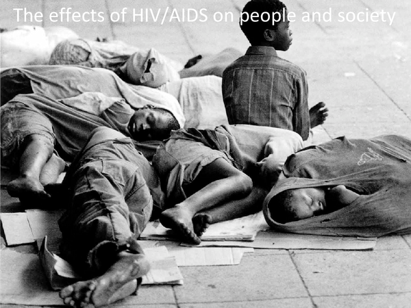 Preview of HIV/AIDS: effects on people and society