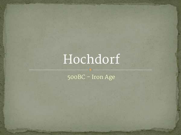 Preview of Hochdorf
