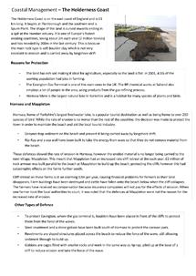 Preview of Holdernes Coastal Management Case Study