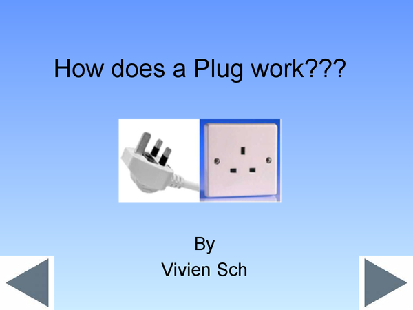 Preview of How does a Plug work? (GCSE Physics)