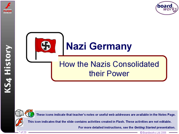 Preview of How the Nazis Consolidated their Power