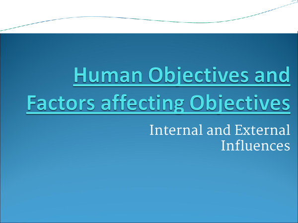Preview of HR Objectives