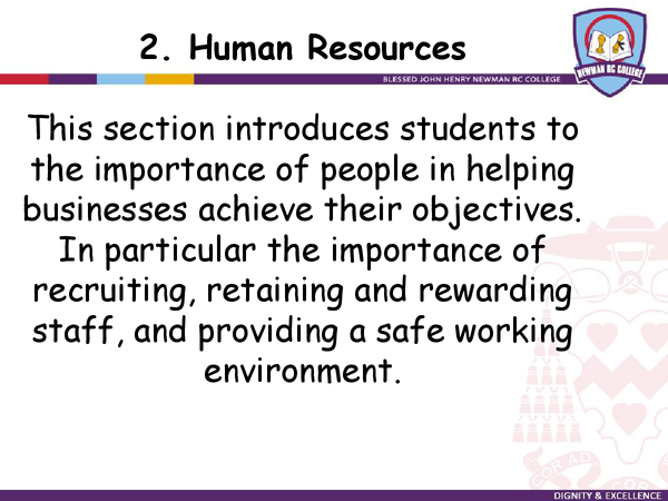 Preview of Human Resources Checklist