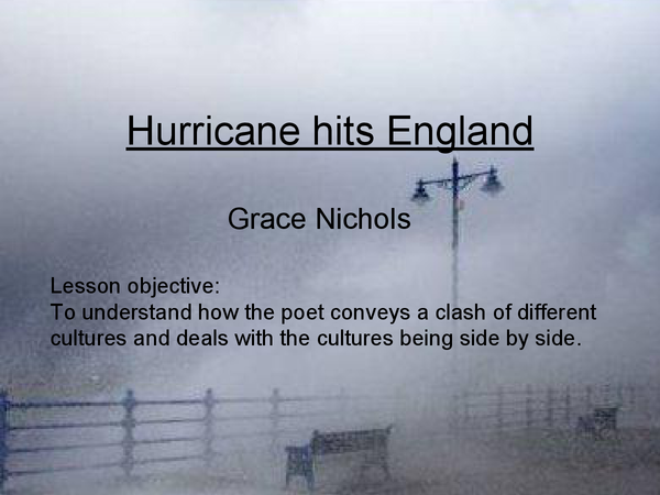 Preview of Hurricane Hits England Pp