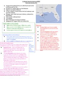 Preview of Hurricane Katrina Case Study