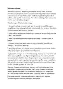 Preview of Renewable energy: Hydroelectric power