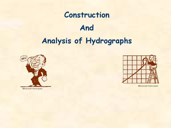 Preview of Hydrographs in detail