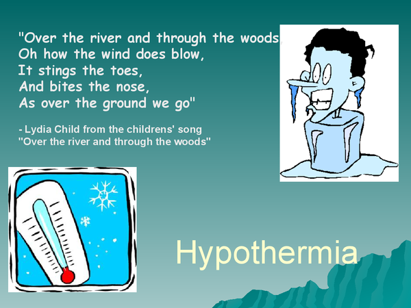 Preview of Hypothermia ppt