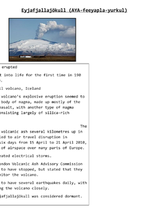 Preview of Iceland Volcano