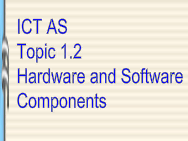 Preview of Ict as 1. 2