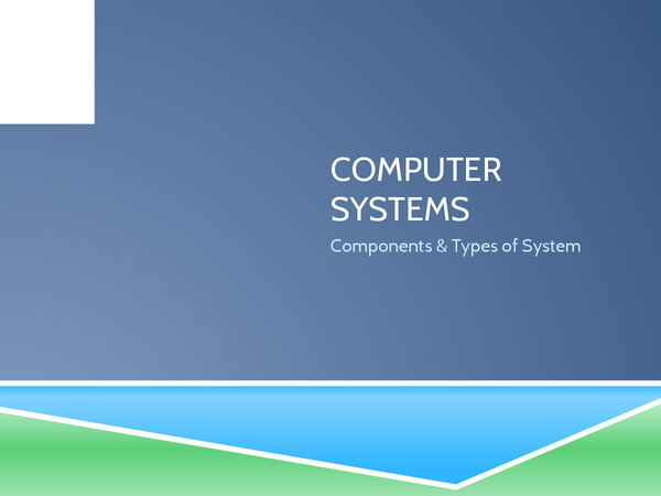Preview of ICT Computer Systems