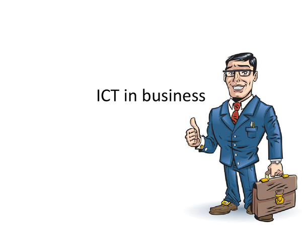 Preview of ICT in business