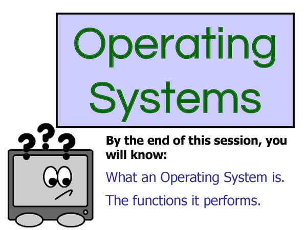Preview of ict operating system