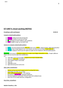 Preview of ICT-UNIT 4, Smart working (NOTES) HIGHLIGHTED