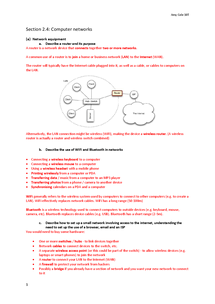 Preview of igcse ict ao2.4 notes