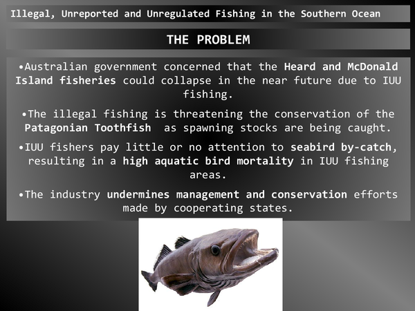 Preview of AS AQA Geography Illegal, Unregulated and Unreported Fishing in the Southern ocean