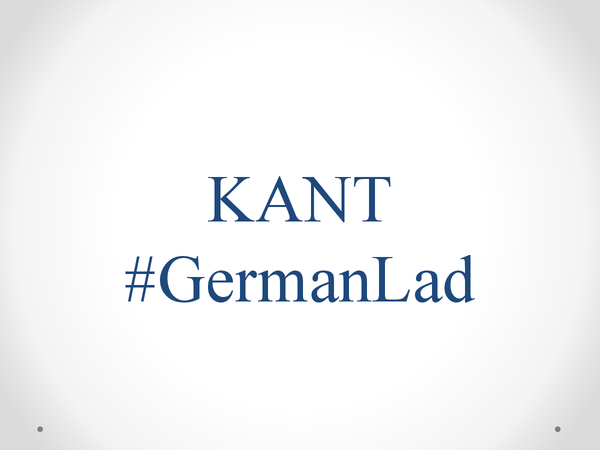 Preview of Immanuel Kant and morality