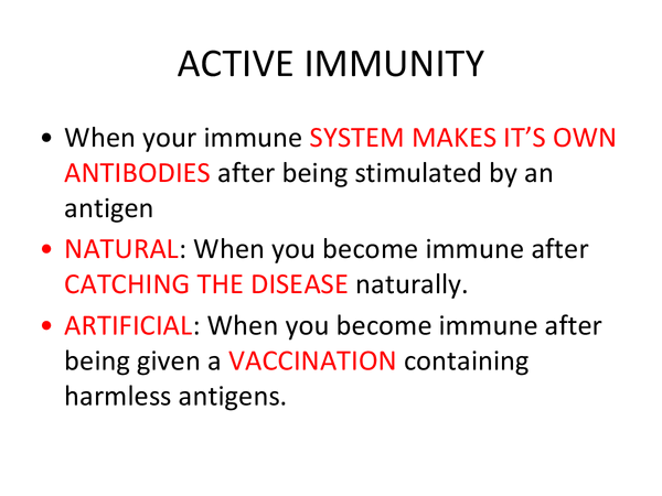 Preview of Immunity and vaccinations (Unit 2 Module 2 OCR)