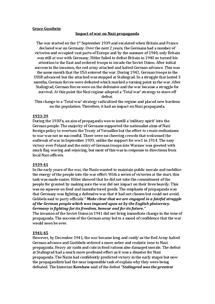 Preview of Impact of war on Nazi propaganda