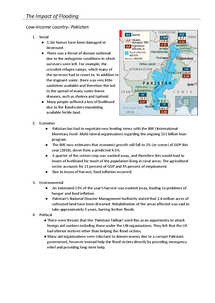 Preview of Impacts of flooding case studies
