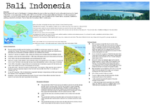 Preview of Impacts of tourism on an LEDC - Bali