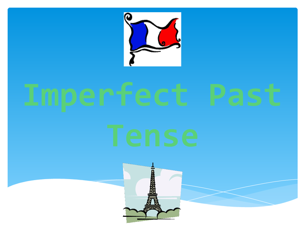 Preview of Imperfect Past Tense Revision