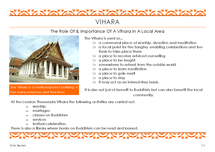 Preview of Importance of the Vihara